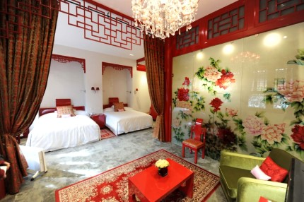 DuGe Hotel Red Room Beijing Hotel Recommendation