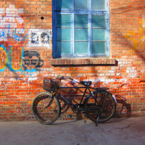 Bicycle In Hutong Beijing Essentials