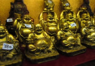 Bespoke For Business Golden Buddhas
