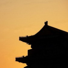 temple-sunset-silhouette