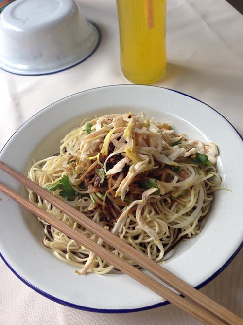 Beijing Cold Noodles - Feel Good Snack of the Summer