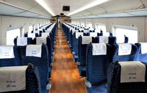 China Train Second Class